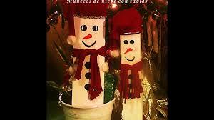 muñecos de nieve hechos con tablas viejas diy trabajos para
