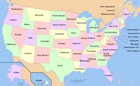 map of the us us state us major cities map map showing major cities