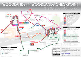 Singapore Mrt Map Getting From Singapore City To Woodlands Train Checkpoint