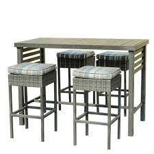 patio bar furniture sets sunjoy patio bar sets outdoor bar furniture the home depot