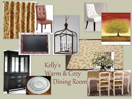 Cozy Dining Room by Warm And Cozy Dining Room Moodboard