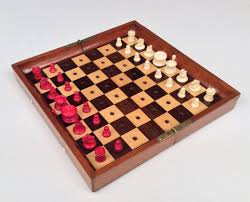 travel chess set images Antique jaques 39 in status quo 39 travelling chess set jpg