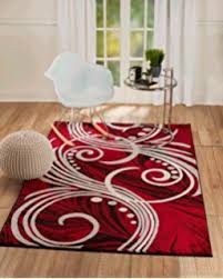 Black And Red Shaggy Rugs Grand Red Black And White Rugs Delightful Design Red And Black