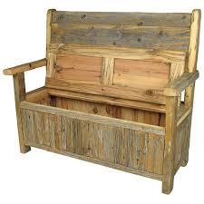 storage ideas glamorous wood storage bench upholstered storage