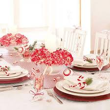 Red And White Christmas Decorations To Make by Christmas Table Ideas Decorating With Red And White