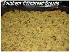 traditional southern cornbread dressing recipe southern