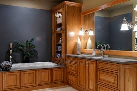Oak Bathroom Cabinet Oak Bathroom Cabinets Houzz