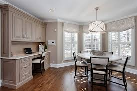 Roman Shades And Valances Plantation Shutters Valance Dining Room Traditional With Built In