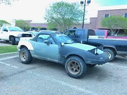 off road sports car off road miata shitty car mods