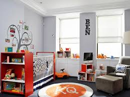 kids room amazing boys room paint design with orange bed on