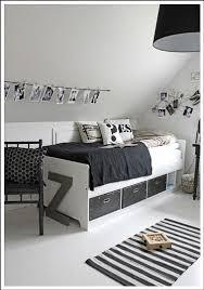 chambre noir et blanche remarquable chambre noir et blanc ado design id es murales fresh in