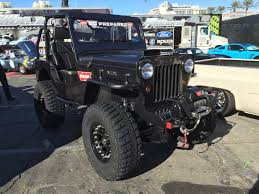 jeep willys truck lifted warn jeep willys quadratec