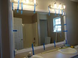 bathroom mirror frame ideas master bath part with bathroom mirror unique image 16 of 19