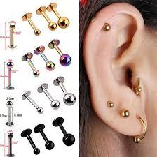 bar earring cartilage discount wholesale 5x tragus helix bar cartilage top ear