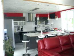 deco cuisine blanche et grise deco cuisine blanc et casemagre le magazine de la