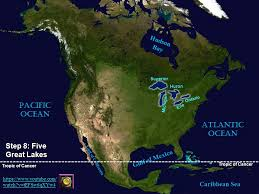 world map oceans seas bays lakes follow along on your blank map to put 30 geographic features in