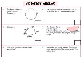 Interior Angles Of Polygon Angles