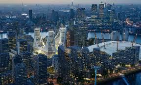 santiago calatrava reveals 1billion glass landmark for london u0027s
