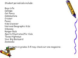 Your Big Backyard Magazine by Bammel Elementary Library Handbook For Teachers The One And Only