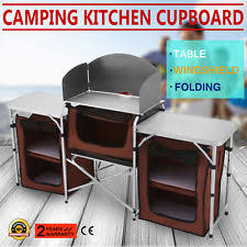 Portable Camping Kitchen Organizer - camping kitchen cooking table folding portable 4 storage bag