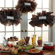 20 diy football decorations for a tailgate tablescape tailgating