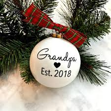 grandparent christmas ornaments pregnancy announcement christmas ornaments