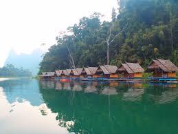 floating houses khao sok national park u2013 surat thani thailand teknomadics