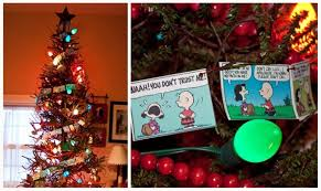 Charlie Brown And Christmas Tree - real parties a charlie brown inspired birthday piggy bank