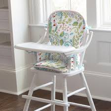 damask chair bird damask high chair pad carousel designs