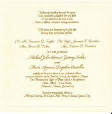 Invitations For Weddings Sample Wording For Wedding Invitations Vertabox Com