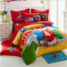 Duvet Sets Twin Alvin And The Chipmunks Bed Duvet Cover Flat Sheet Pillow Shams 4