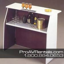 bar rental portable bar rental pro audio visual rentals nyc ny nj ct pa