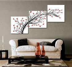 Art For Living Room 3 Diagonal Wall Art Set Piece Wall Art Set Modern Oil