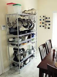 smart kitchen storage ideas for small spaces stylish eve wire shelving units in the kitchen simple cheap and yes