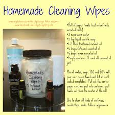 Upholstery Cleaning Wipes Homemade Cleaning Wipes With Doterra Oils Http Mydoterra Com