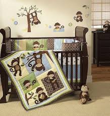 Boy Monkey Crib Bedding Baby Boy Monkey Crib Bedding Sets Dominandoguitarras
