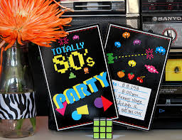 80s party ideas kids party ideas at birthday in a box