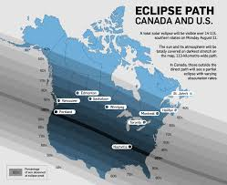 map of the solar eclipse map track the path across canada and the u s ctv