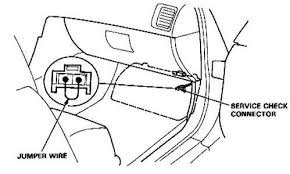 where is the obd connector located on a 1990 acura legend fixya