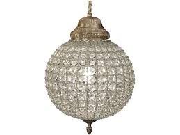 Sphere Chandelier With Crystals Terrific Sphere Chandelier Globe Chandelier White