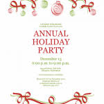 christmas party invite template best 10 christmas party