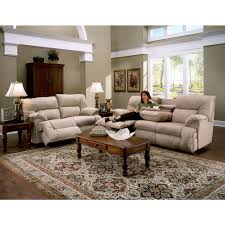 Power Reclining Sofas And Loveseats by Franklin Tristin Beige Microfiber Dual Reclining Sofa U0026 Love Set