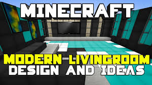 minecraft modern living room designs u0026 ideas youtube