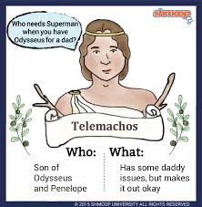 telemachos in the odyssey