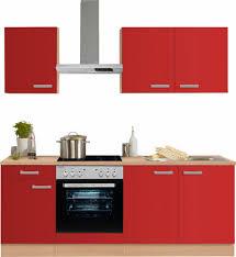 K Henzeile Online Shop Optifit Küchenzeile Mit E Geräten Odense Breite 210 Cm Online