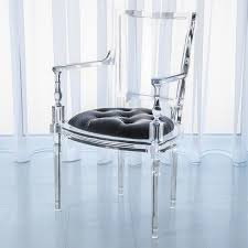 Lucite Armchair The Well Appointed House Luxuries For The Home The Well