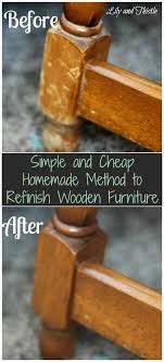 what is the best furniture restorer simple and cheap method to refinish wooden