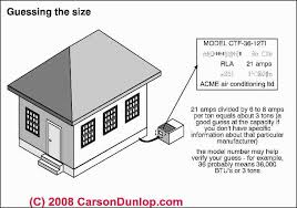How To Design Home Hvac System Air Conditioners How To Determine The Cooling Capacity Of Air