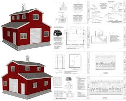 horse barn with apartment floor plans barn apartment plans home plans