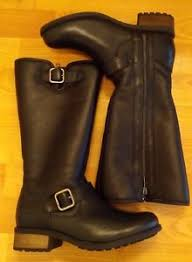 womens leather motorcycle boots australia ugg australia boots rn 88276 s leather black motorcycle
